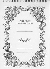 NOTES Fine Italian Paper A5 w linie NPQ S16 ROSSI