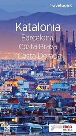 KATALONIA BARCELONA, COSTRA BRAVA I COSTA DORADA TRAVEL BOOK przewodnik BEZDROŻA 2018