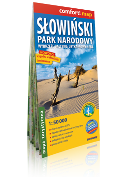 Słowiński Park Narodowy laminowana mapa turystyczna 1:50 000 EXPRESSMAP 2019