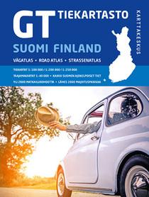 FINLANDIA atlas samochodowy 1:200 000/1:250 000 Karttakauppa