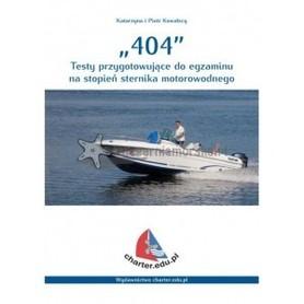 404 - Testy przygotowujące do egzaminu na stopień sternika motorowodnego CHARTER