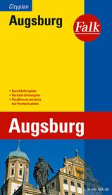 AUGSBURG plan miasta 1:20 000 FALK VERLAG