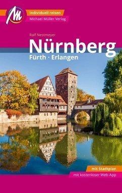 NORYNBERGA  FURTH ERLANGEN (język niemiecki) PRZEWODNIK TURYSTYCZNY Michael Müller Verlag
