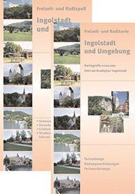 Ingolstadt  i okolice mapa turystyczna 1:100 000 Galli-Verlag