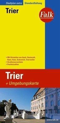 Trier  plan miasta 1:20 000 i mapa regionu 1:150 000 FALK VERLAG