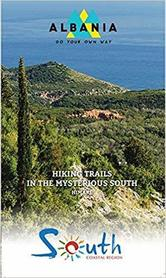 Himare - Hiking Trails in the mysterious South - Albania (GUIDE + MAP) 1:60.000 VEKTOR ALBANIA