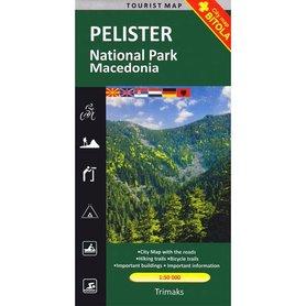 Park Narodowy Pelister - Pelister Nationalpark 1:50 000 Macedonia mapa turystyczna Trimaks