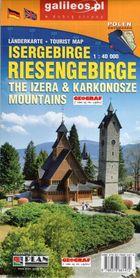 KARKONOSZE I GÓRY IZERSKIE RIESENGEBIRGE ISERGEBIRHE  mapa turystyczna 1:40 000 PLAN