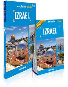 IZRAEL explore! guide LIGHT przewodnik z mapą EXPRESSMAP 2019