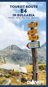 Tourist Route E4 in Bulgaria - Vitosha - Verila - Rila - Pirin - Slavyanka