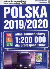 POLSKA 2019/2020 atlas samochodowy 1:200 000 KOMPASS PWN