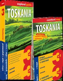 TOSKANIA 3w1 przewodnik + atlas + mapa EXPRESSMAP 2019