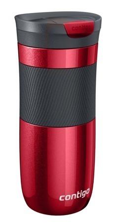 Kubek termiczny Contigo Byron Red 470 ml czerwony