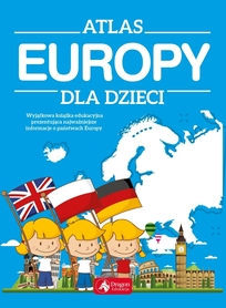 ATLAS EUROPY dla dzieci DRAGON