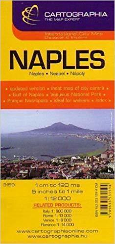 NEAPOL plan miasta 1:12 000 CARTOGRAPHIA