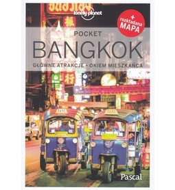 BANGKOK przewodnik Lonely Planet Pocket 2019 plus mapa