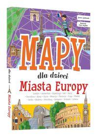 MIASTA EUROPY Mapy dla dzieci SBM