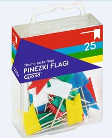 Pinezki flaga (25szt) GRAND