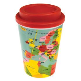 KUBEK WORLD MAP Kubek podróżny wielokrotnego użytku REX LONDON TRADE