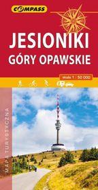 JESIONIKI GÓRY OPAWSKIE mapa turystyczna 1:50 000 COMPASS 2019
