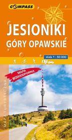 JESIONIKI GÓRY OPAWSKIE mapa turystyczna wodoodporna 1:50 000 COMPASS 2019