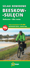 SZLAKI ROWEROWE BEESKOW - SULĘCIN szlaki rowerowe mapa 1:75 000 TOP MAPA