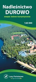 NADLEŚNICTWO DUROWO mapa leśno-turystyczna 1:65 000 TOPMAPA