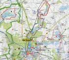 NADLEŚNICTWO DUROWO mapa leśno-turystyczna 1:65 000 TOPMAPA (3)