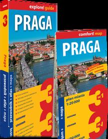 PRAGA 3w1 przewodnik + atlas + mapa EXPRESSMAP 2019
