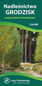 NADLEŚNICTWO GRODZISK mapa leśno-turystyczna 1:50 000 TOPMAPA