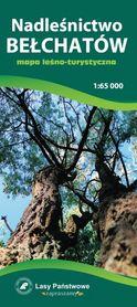 NADLEŚNICTWO BEŁCHATÓW mapa leśno-turystyczna 1:65 000 TOPMAPA
