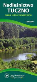 NADLEŚNICTWO TUCZNO mapa leśno-turystyczna 1:50 000 TOPMAPA