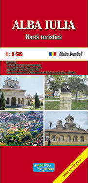 ALBA IULIA plan miasta 1:8 500 AMCO PRESS