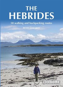 HEBRYDY The Hebrides 50 Walking and Backpacking Routes przewodnik CICERONE