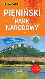 PIENIŃSKI PARK NARODOWY kieszonkowa mapa wodoodporna COMPASS 2019