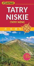 TATRY NISKIE - NIŻNE TATRY mapa turystyczna 1:50 000 COMPASS 2019