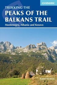 Peaks of the Balkans ALBANIA KOSOWO CZARNOGÓRA (język angielski) przewodnik CICERONE
