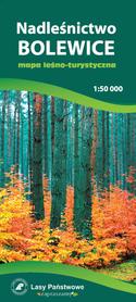 NADLEŚNICTWO BOLEWICE mapa leśno-turystyczna 1:50 000 TOPMAPA