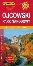 OJCOWSKI PARK NARODOWY mapa turystyczna 1:20 000 COMPASS 2019