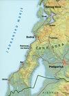WYBRZEŻE CZARNOGÓRY mapa turystyczna 1:100 000 KARTOGRAFIJA (2)