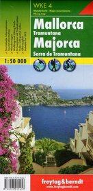 MAJORKA TRAMUNTANA mapa turystyczna 1:50 000 FREYTAG & BERNDT