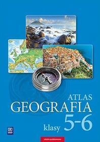 GEOGRAFIA ATLAS SZKOLNY Szkoła podstawowa, klasy 5-6 WSiP