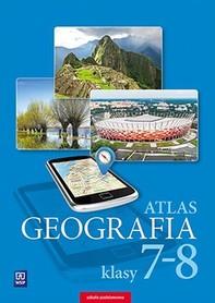 GEOGRAFIA ATLAS SZKOLNY Szkoła podstawowa, klasy 7-8 WSiP