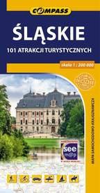 ŚLĄSKIE mapa atrakcji turystycznych 1:200 000 COMPASS