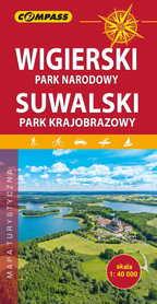 WIGIERSKI PARK NARODOWY - SUWALSKI PARK KRAJOBRAZOWY mapa turystyczna 1:40 000 COMPASS