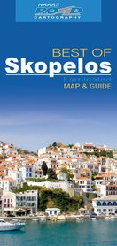 SKOPELOS laminowana mapa turystyczna 1:40 000 NAKAS ROAD CARTOGRAPHY