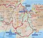 SKOPELOS laminowana mapa turystyczna 1:40 000 NAKAS ROAD CARTOGRAPHY (2)