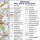 BIESZCZADY mapa atrakcji turystycznych 1:100 000 COMPASS 2019 (4)