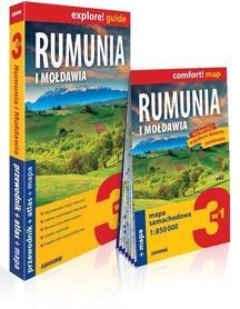 RUMUNIA 3w1: przewodnik + atlas + mapa EXPRESSMAP 2019