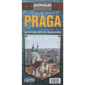 PRAGA laminowany kieszonkowy plan miasta 1:11 000 PLAN